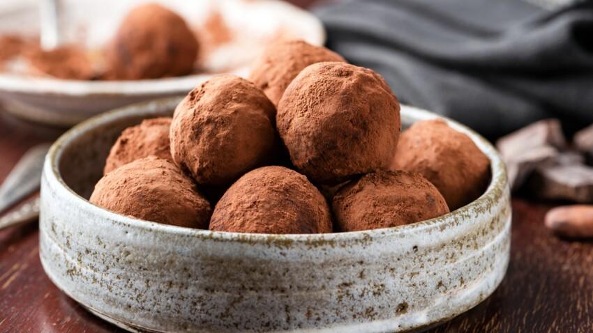 Truffes chocolat sans oeufs