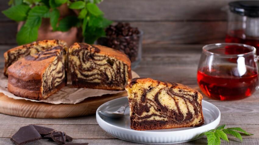 Gâteau marbré de Noël : la recette facile et gourmande
