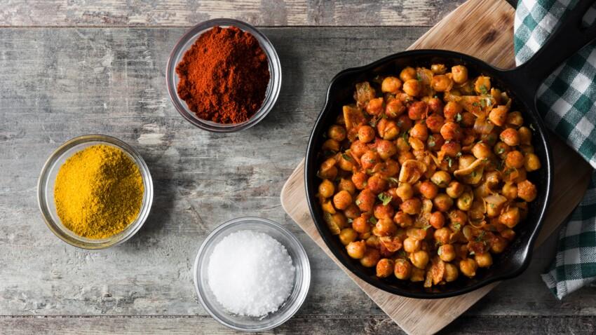 Immunité : le curry de pois chiche aux épinards, une recette riche en antioxydants
