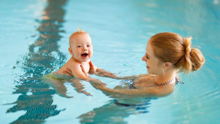 Bébé nageur : 10 questions que les parents se posent