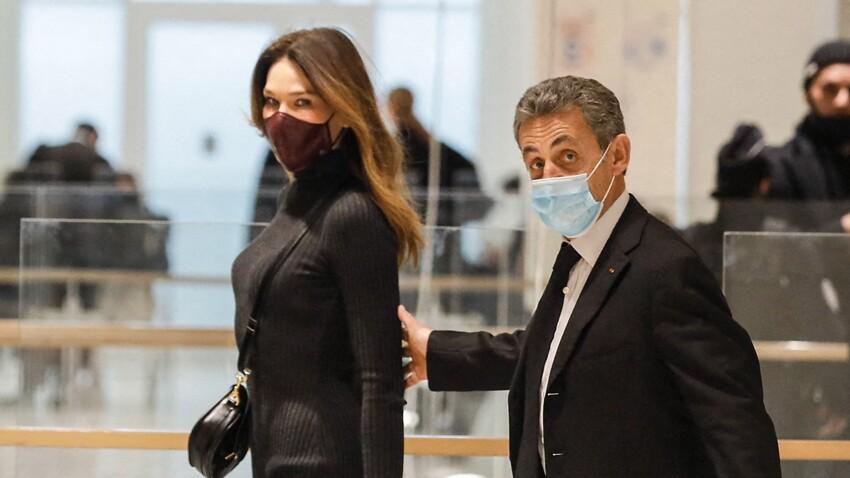 Procès de Nicolas Sarkozy : Carla Bruni arrive en renfort au tribunal et provoque l'agitation