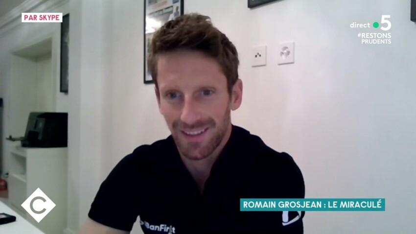 """Romain Grosjean revient sur son accident : """"J'ai retrouvé un dernier souffle en pensant fort à mes enfants !"""""""