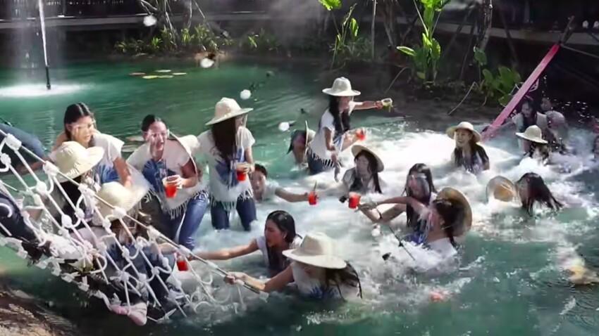 Miss Thaïlande : les candidates tombent à l'eau après l'effondrement d'un pont