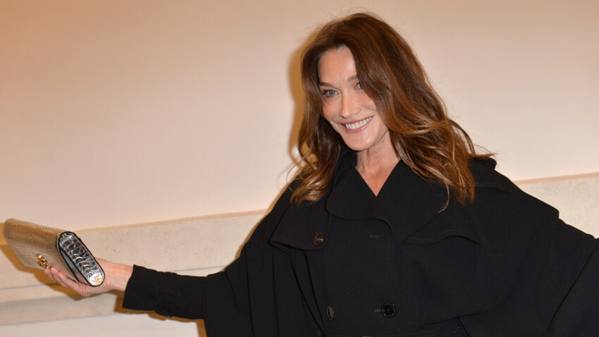 Carla Bruni-Sarkozy : émue aux larmes, elle en oublie son mari !