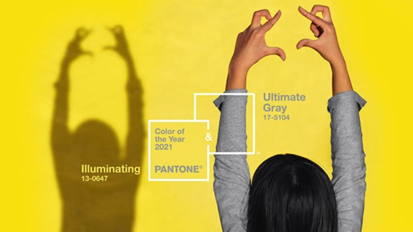 Pantone 2021 : notre sélection shopping pour adopter les deux nouvelles couleurs Ultimate Grey et Illuminating