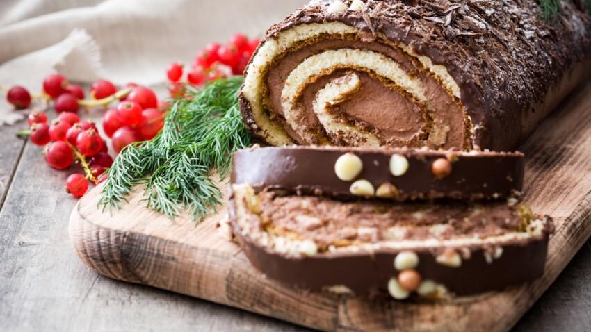 Bûche de Noël : quelles sont les moins caloriques à acheter cette année ?