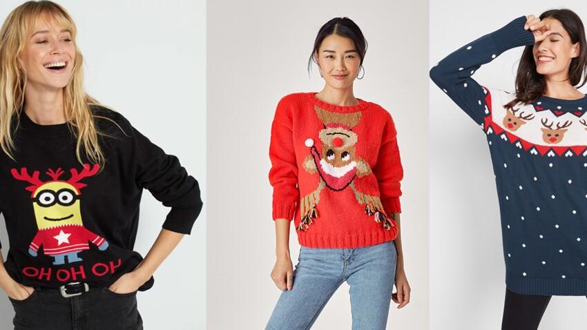 Tendance pull de Noël : et si on osait cette année ? 15 modèles au top