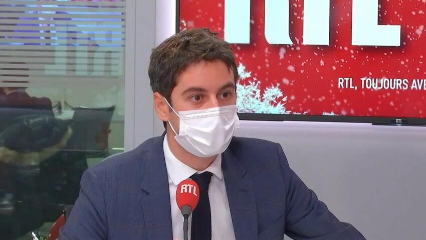 Coronavirus : vers un reconfinement en janvier ? Le porte-parole du gouvernement Gabriel Attal répond