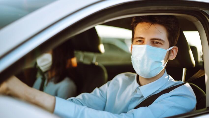 Covid-19 : 4 conseils pour limiter les risques de contamination lors d'un trajet en voiture