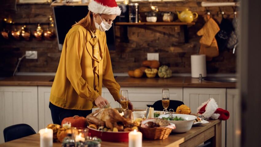 Buffet, apéritif... 10 conseils pour limiter les risques de contamination à Noël
