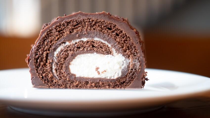 """""""Tous en cuisine"""" : la recette de la bûche de Noël au chocolat et crème vanille de Cyril Lignac"""