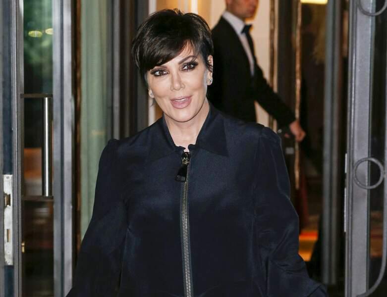 La coupe pixie de Kris Jenner