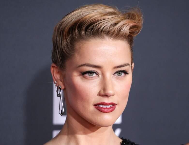 La coupe pixie de Amber Heard