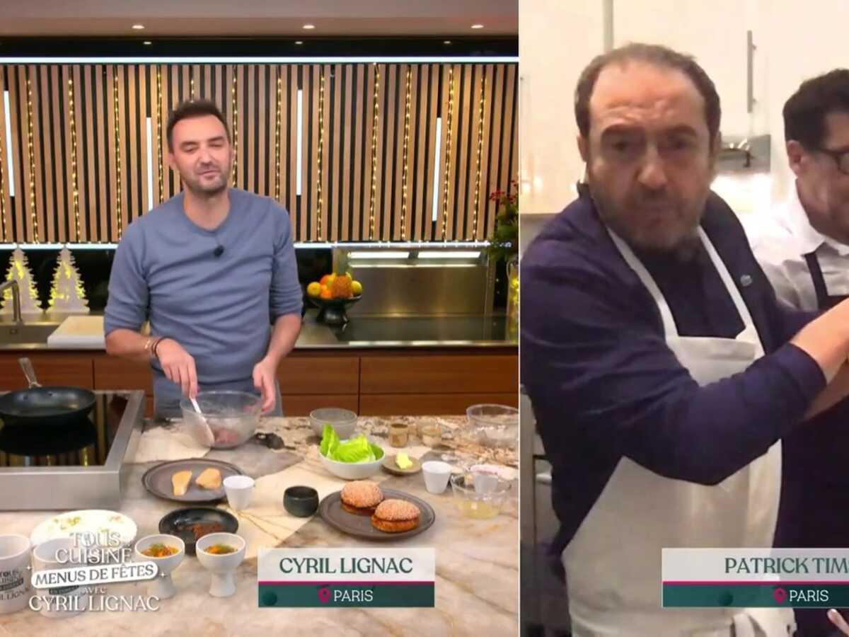 """""""Tous en cuisine"""" : Patrick Timsit crée la surprise en présentant son fils Lazard"""