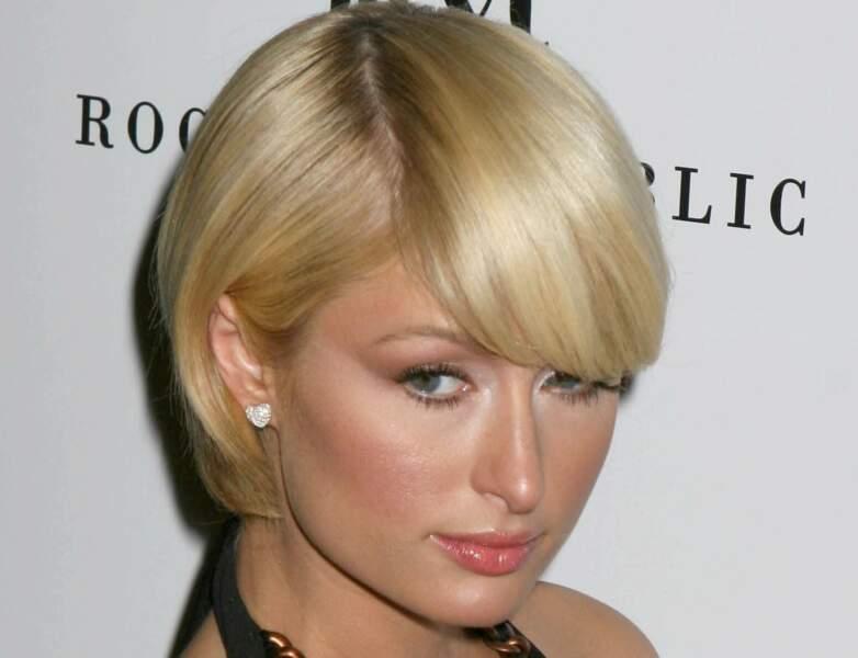 Le carré court de Paris Hilton