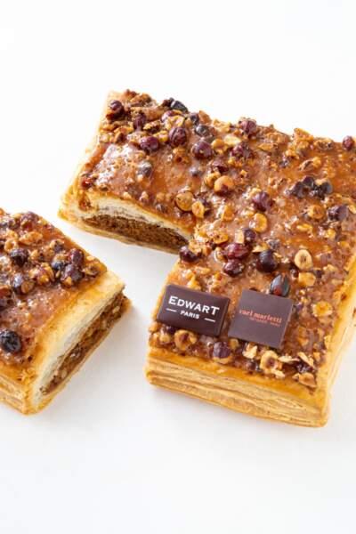 Edwart Chocolatier x Carl Marletti : Galette Carrée