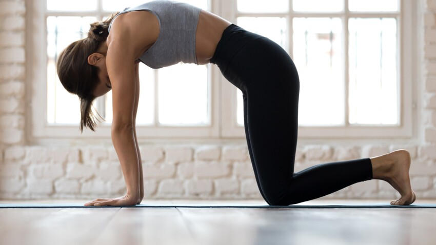 Yoga : 5 positions anti-mal de dos