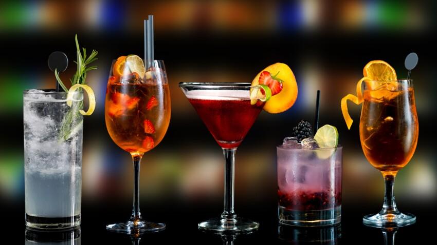 Cocktails maison : nos idées originales avec et sans alcool pour le Nouvel-an