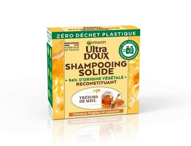Le shampooing solide Ultra Doux Garnier