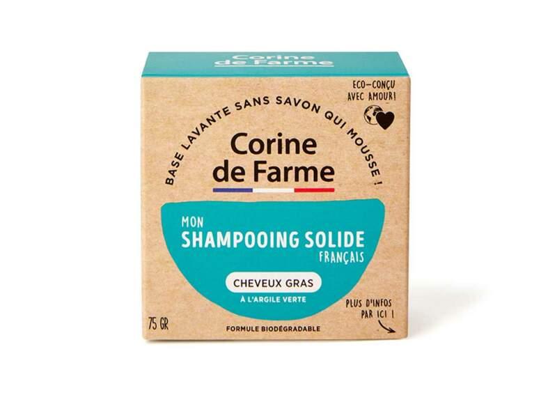 Le shampooing solide Corine de Farme