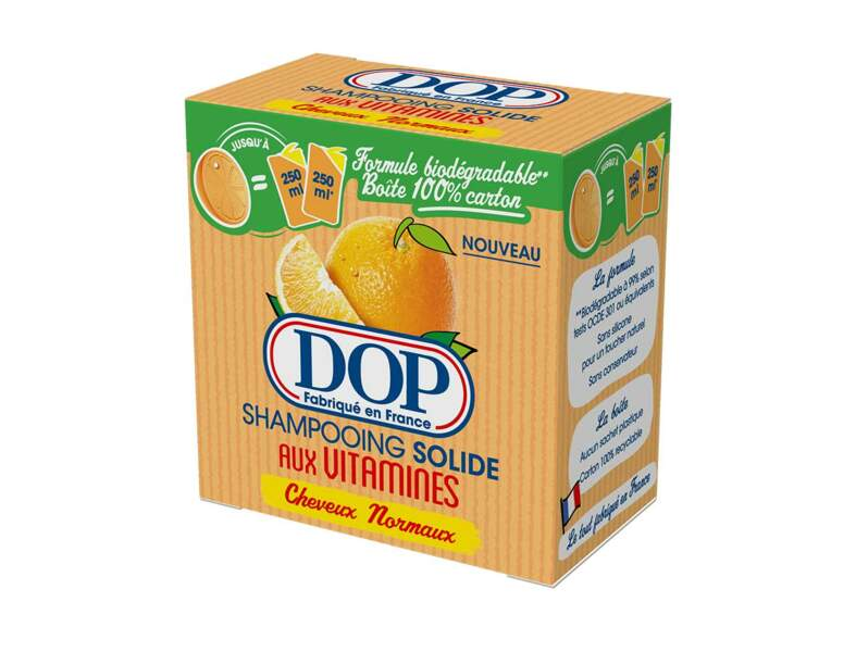 Le shampooing solide aux vitamines DOP