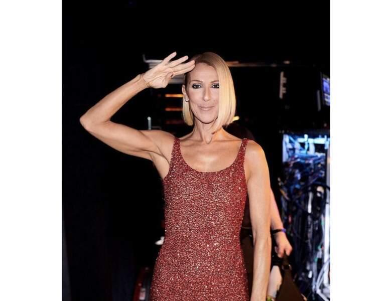 Avant : Céline Dion