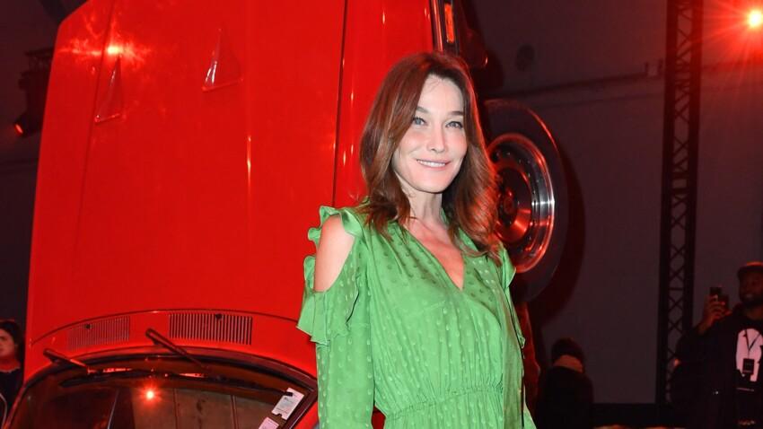 Oups ! Carla Bruni dévoile par inadvertance le visage de sa fille Giulia