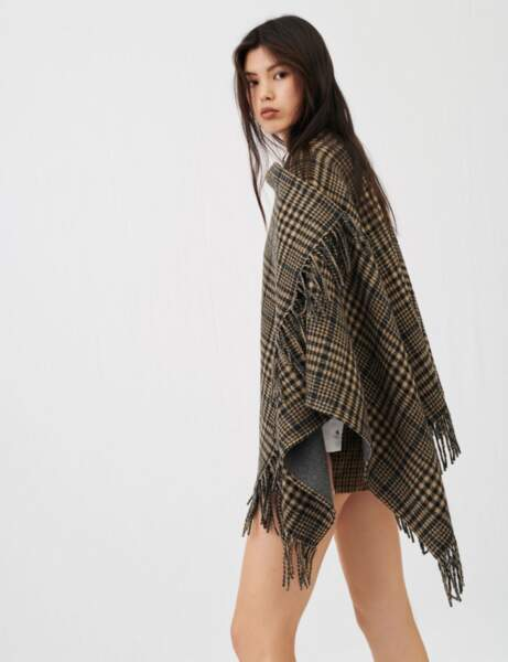 Mode grand froid : le poncho