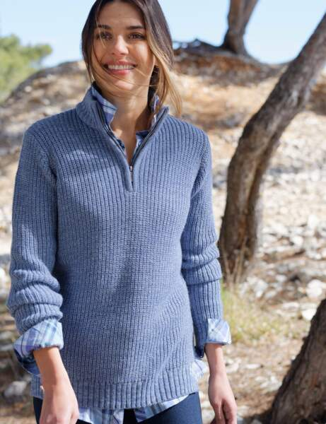 Mode grand froid : le pull camionneur