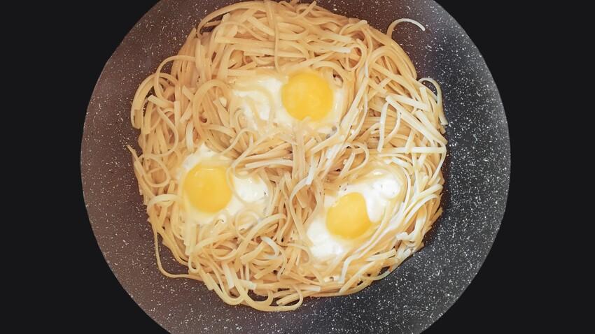 Pâtes aux œufs : la recette gourmande de Philippe Etchebest