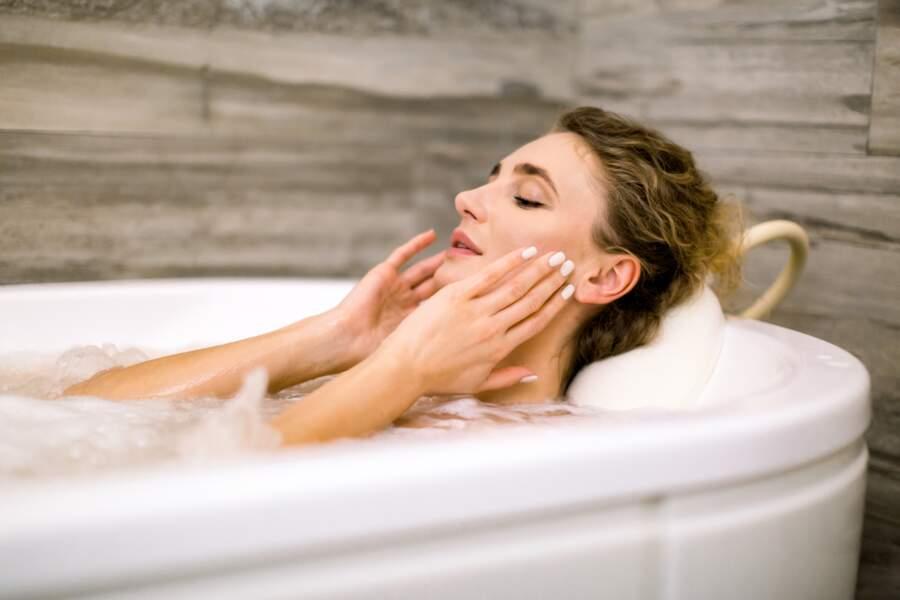 Un bain chaud