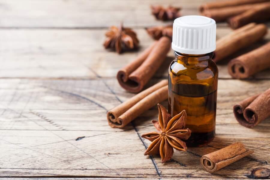 L'huile essentielle de cannelle