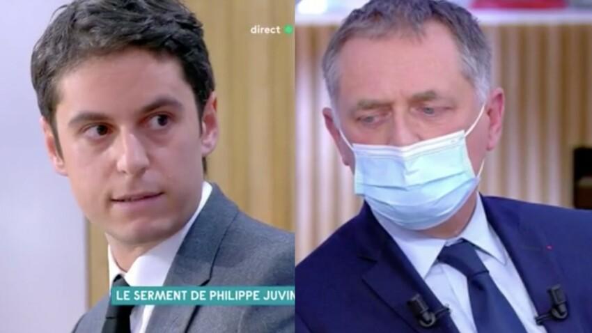Coronavirus : Philippe Juvin a-t-il menti ? Le professeur gêné après la violente charge de Gabriel Attal