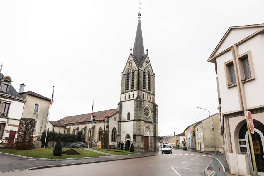 L'église Saint-Rémy, à Vittel