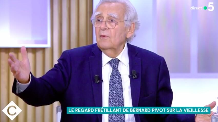"""Bernard Pivot : sa blague coquine à Anne Elisabeth Lemoine dans """"C à vous"""""""