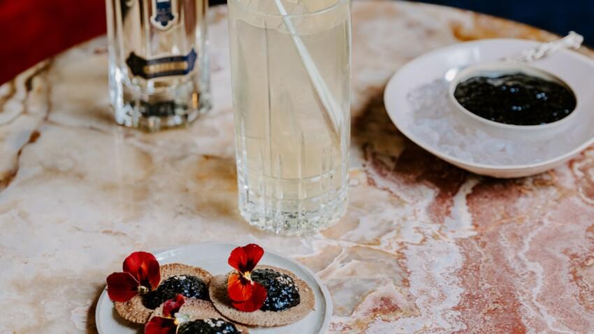 Cocktail bouquet végétal