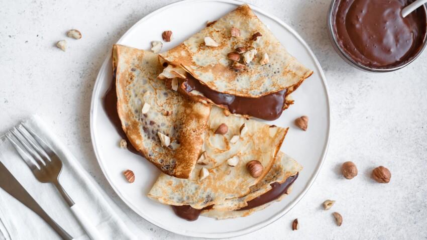 La recette des crêpes et pâte à tartiner de Philippe Etchebest