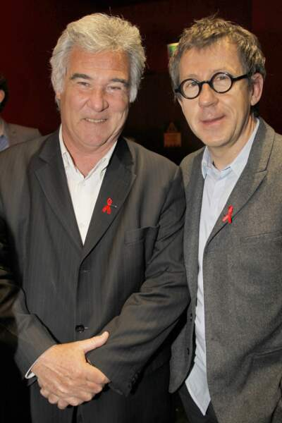 ...avec Jamy Gourmaud de France 3 pour le même évènement.