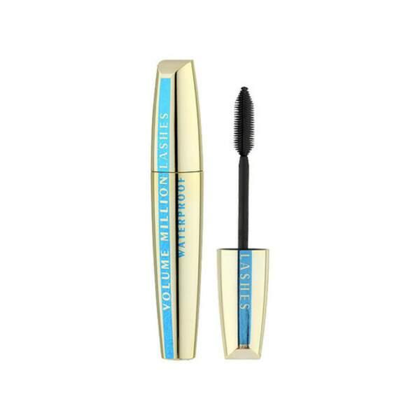 Mascara Volume Millions de Cils Noir Waterproof, L'Oréal Paris, flaconnette 9,5 ml, prix indicatif : 15,50 €