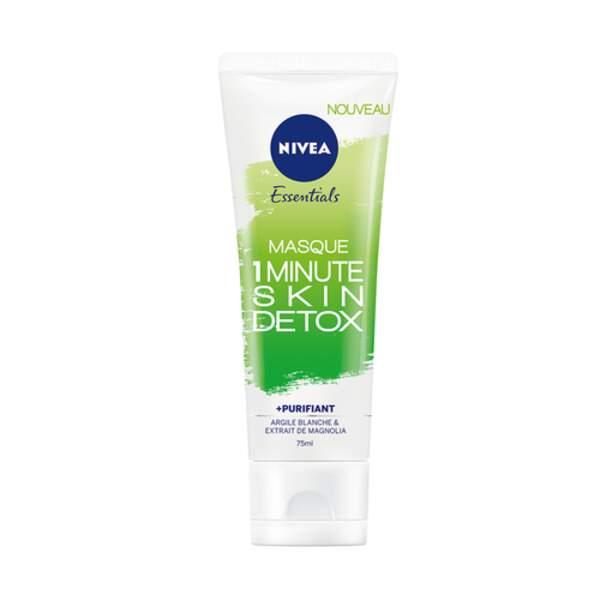 Masque 1 Minute Skin Detox, Nivea, 8 €
