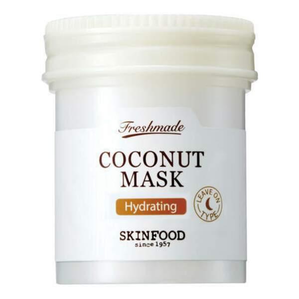 SKINFOOD : Fresh Made Coconut Mask, pot 90ml, 12,50 € en exclusivité chez Sephora