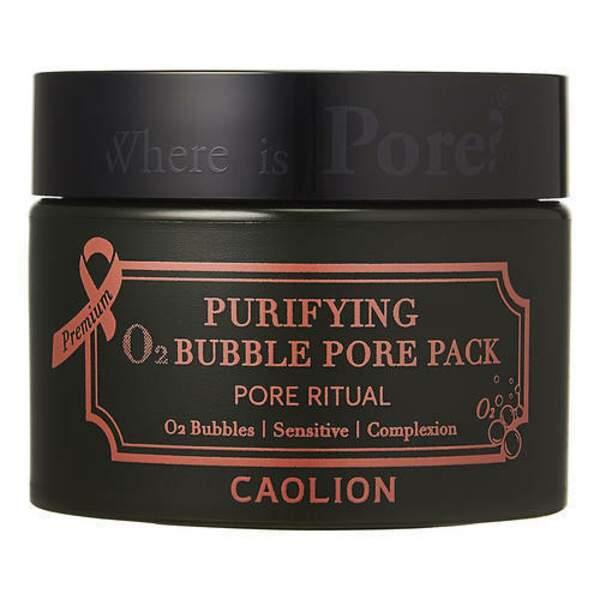 CAOLION : Premium Purifying O2 Bubble Pore Pack, pot 50g, 25 € en exclusivité chez Sephora