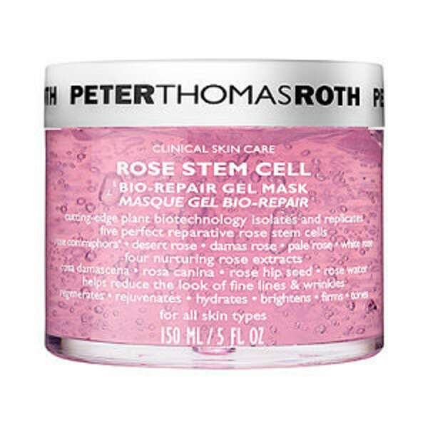 Masque Gel Bio-Repair à la Rose, Peter Thomas Roth, pot 150 mL, prix indicatif : 49,90€