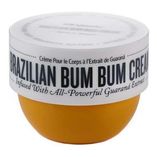 Brazilian Bum Bum Cream, Sol de Janeiro, pot 75 ml / 240 ml, prix indicatifs : 17,95 € / 40,90 €