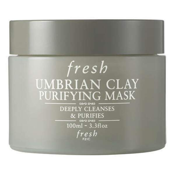 Umbrian Clay Purifying Mask - Masque Purifiant à l'Argile, Fresh, pot 100 mL, prix indicatif : 67 €