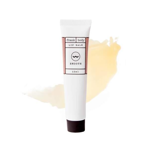 Baume pour les Lèvres au Café, Frank Body, tube 15 ml, prix indicatif : 9,95 €
