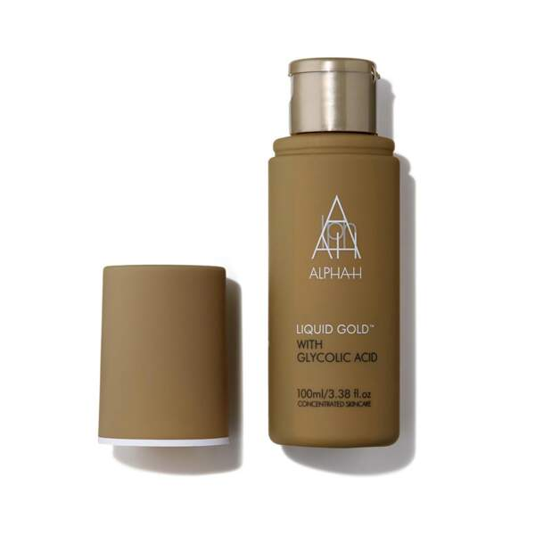 Liquid Gold with glycolic acid, AlphaH, 25 €