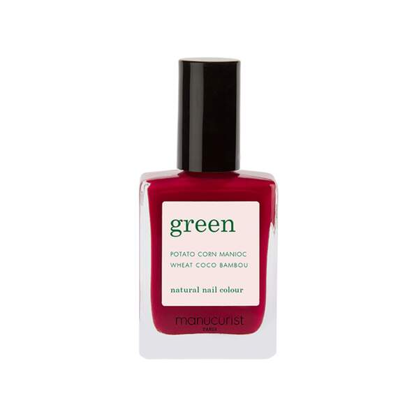 Vernis Green, Manucurist, flaconnette 15 ml, prix indicatif : 14 €