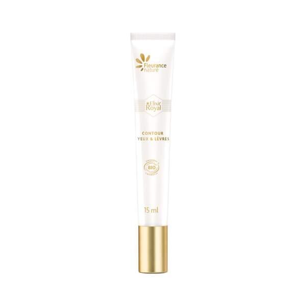 Elixir Royal Contour Yeux et Lèvres, Fleurance Nature, Tube 15 ml, prix indicatif : 26,90 €