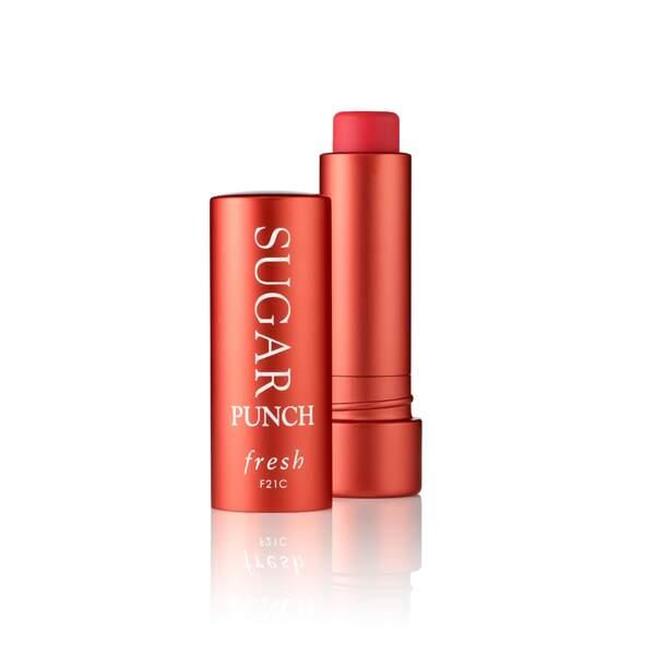 Sugar Punch Tinted Lip Treatment Sunscreen SPF15, Fresh, stick 4,3 g, prix indicatif : 28,50 €